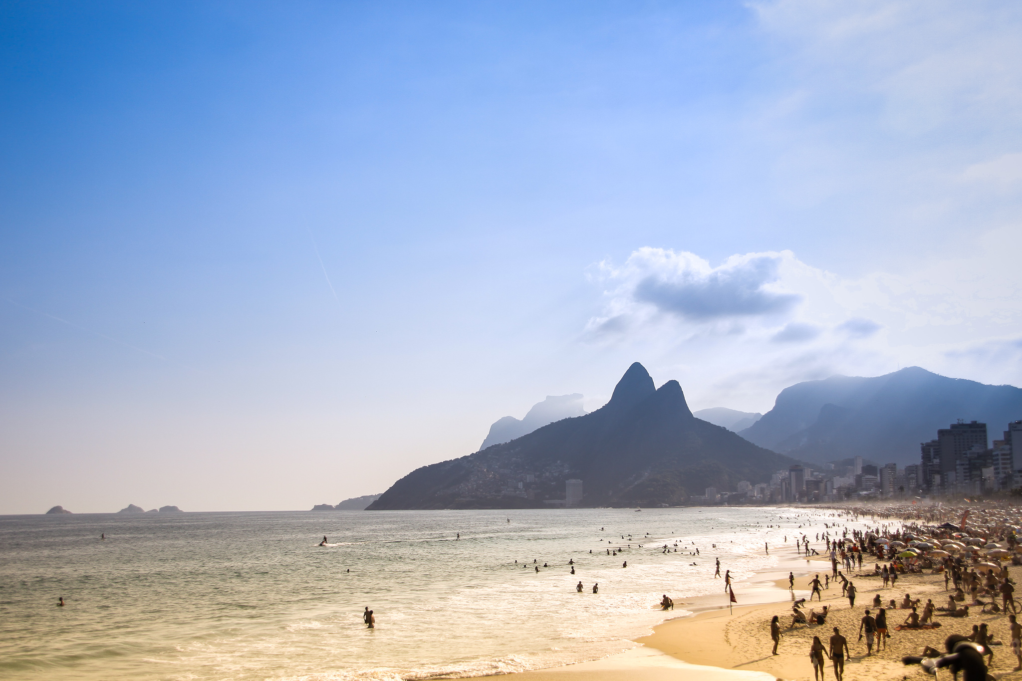 Rio de janeiro, copacabana, ipanema, brasil